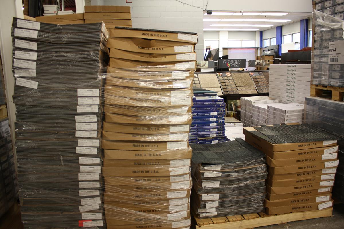 Carpet Tile Product Page