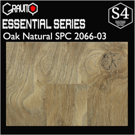 Oak Natural Gravity SPC 2066-03